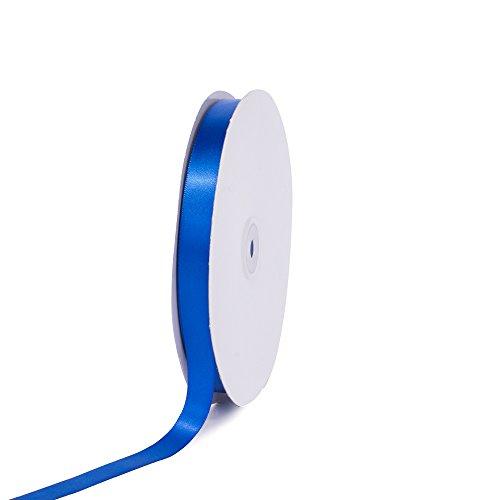 "Creative Ideas PSF0508-350 Solid Satin Ribbon, Royal Blue, 5/8"" x 100 yd"