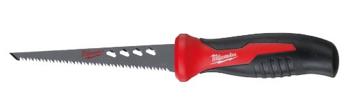 (Milwaukee 48-22-0304 6 Inch Drywall and Plaster Rasping Jab Saw w/ Rubber Handle)