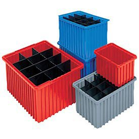 Akro-Mils Akro-Grid Dividable Container - 16-1/2 X10-7/8 X6