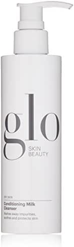 Glo Skin Beauty Conditioning Milk Cleanser | Creamy Hydrating Face Wash for Dry Dehydrated Skin