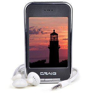 Craig 4GB MP3 Video Player