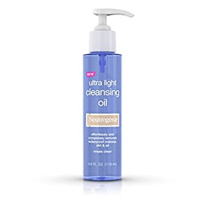 Neutrogena Ultra Light Cleansing Oil & Makeup Remover, 4 Fl. Oz.