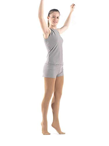 Sagester - Figure Skating Footed Tights / 80 den/Color - Nude, Skin/Size: M ()