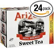 Arizona Southern Style Real Brewed Sweet Tea, 11.5 oz, 12ct(Case of 2)