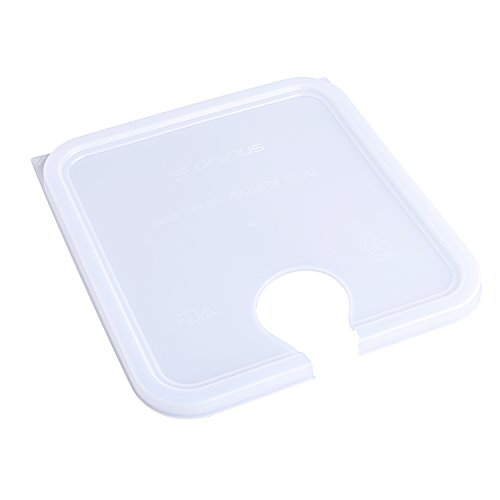 Large Product Image of Forsous sous vide container lid for Anova Culinary Precision Cookers, fits 12, 18 & 22 Quart Rubbermaid Containers (sous vide lid for anova)