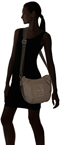 Sac Duck messenger Marron Tracolla Mandarina Own Md20 4BwTq4xz