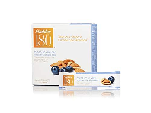 Shaklee® 180 Meal-in-a-Bar® (Blueberry & Almond Crisp – 7 Bars)