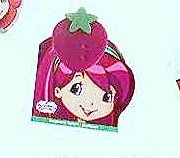 McDonalds Happy Meal Strawberry Shortcake Raspberry Tortle Notebook w/Stamper Toy #6 2009