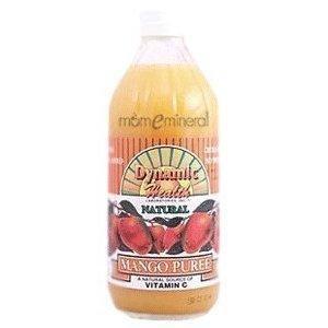 Dynamic Health Mango Puree - Dynamic Health Puree, Mango OG2 16 oz. (Pack of 3) by Dynamic Health