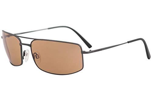 Serengeti Classic Metal Treviso Satin Dark Gunmetal Drivers Sunglasses