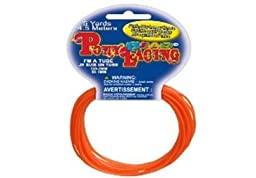 Pony Bead Lacing 5Yd Hank Neon Orange