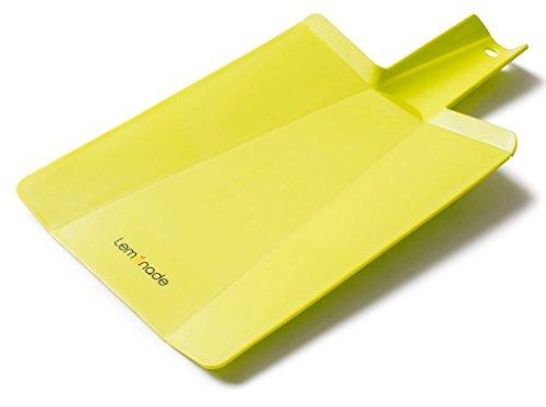(LEMONADE Premium Folding Cutting Board Kitchen Slate For Cutting, Chopping & Slicing Vegetables, Meat, Fish & More -Practical Scoop Design & Ergonomic Handle)