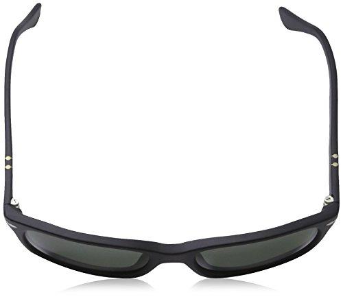 Negro Sol de Classics Grey Black Persol Unisex Gafas Adulto W6qYxSOZ