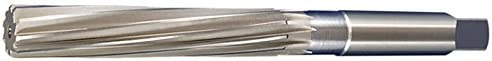 Alfa Tools HR74355 1//4 Hand Reamer Spiral Flute Straight Shank Square Drive Left Hand Helix