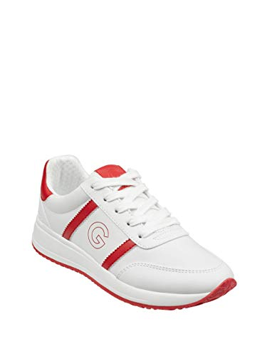 (G by GUESS Women's Ryce Logo Low-Top Sneakers)