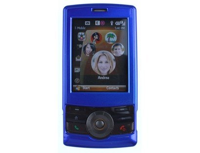 - Hard Plastic Blue Phone Protector Case For T-Mobile HTC Shadow