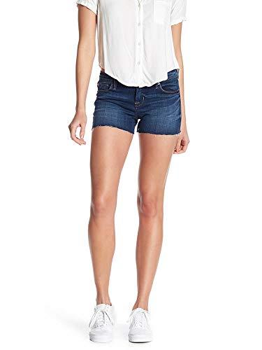 HUDSON Women's Amber Raw Edge Hem 5 Pocket Jean Short (28, Matchmaker)