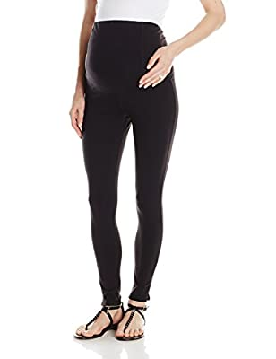 Ingrid & Isabel Women's Maternity Active Legging with Crossover Panel