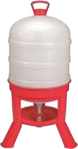 (LITTLE GIANT DOMEWTR10 Plastic 10 Gallon Dome Poultry Waterer)
