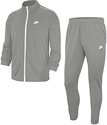 Nike M NSW CE TRK Suit PK Basic Chándal, Hombre, lt Smoke Grey ...