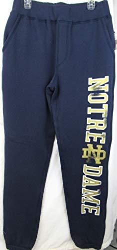 Notre Dame Starter - G-III Sports Notre Dame Fighting Irish Men's Size Large Distressed Screen Printed Starter Sweatpants ANTD 102 L