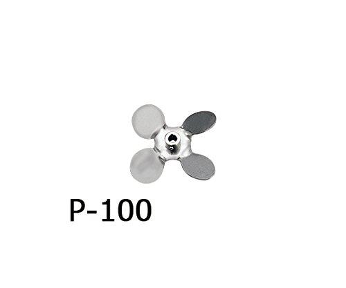 アズワン1-5505-20トルネード用撹拌羽根プロペラ(ボス付き)φ100mm B07BD2P2G9