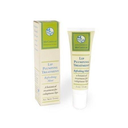 MyChelle Lip Treatment repulpant, Menthe rafraîchissante, Tube 0,5 onces