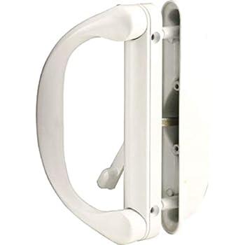 Amazon Com Sliding Patio Door Handle Set For Milgard White Home