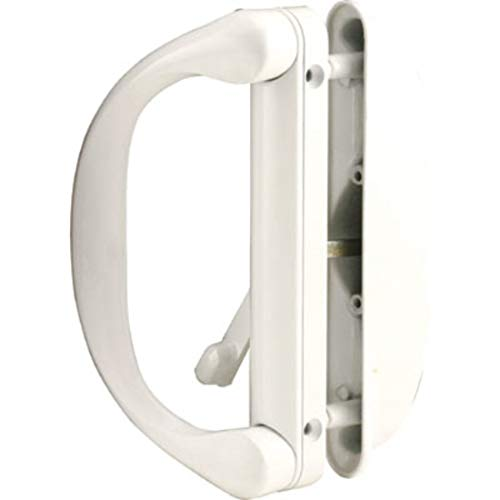 Cheap  Sliding Patio Door Handle Set for Milgard, White