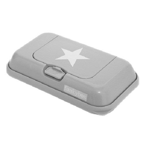 7 opinioni per Funkybox- Scatola di salviettine- Grigio con stella bianca
