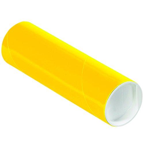 Yellow Mailing Tubes - 7
