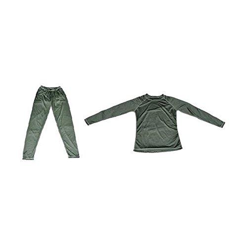 Stealth Gear Größe L Brust 101,6cm thermo-anti Odour Unterwäsche Shirt–Dunkelgrün