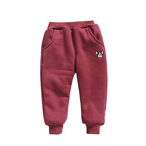 Sweatpants Mish Mish - KAOKAOO Little Boys Stretch Active Basic Sweatpants Sport Cotton Jogger Pants (Coffee-130/ Tall: 110-120cm)
