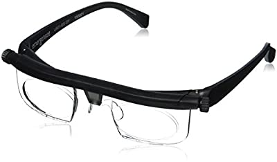 Adlens Adjustable Eyewear-Instant 20 20 Vision-Non Prescription Lenses -Both Nearsighted & Farsighted Variable Focus Glasses-Computer Reading Driving Eyeglasses-Men & Women - Centurion Optical