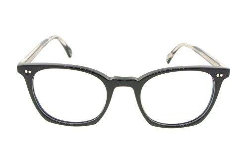 Oliver Peoples Eyeglasses L.A. Coen 5297U 1492 Polished Black with Interchangeable Optic - Oliver Coen