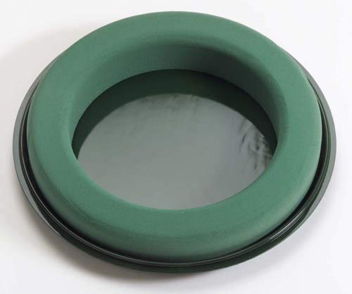 10-1/2'' Oasis Design Ring (Sell by CASE- 10/CASE) 10-1/2'' D x 1-3/4'' W x 2-1/8'' H, 6''