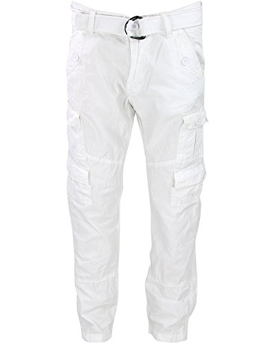 Belted Cargo Pants - 3