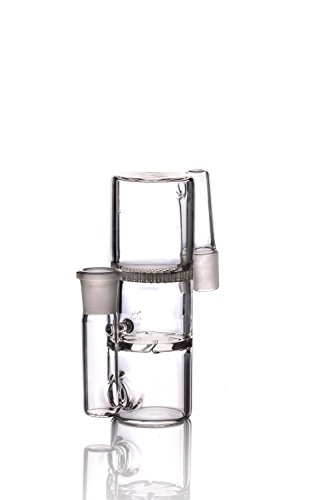 S-Week Newest Ash Catcher Hand Made Glass Holder 18.8 mm - Contact Number Nectar For