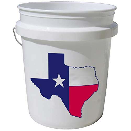 Encore Plastics 5-Gallon Commercial Food Grade Bucket FDA approved Pail Used for Paints Coatings Varnishes Water Sealants Concrete Patching Compounds Asphalt Coatings Detergents Soaps