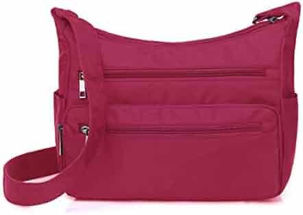 45155787bacd Shopping Nylon - 4 Stars & Up - Reds - Crossbody Bags - Handbags ...