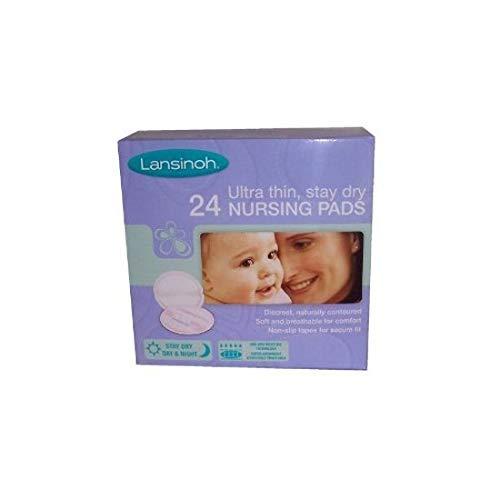 Lansinoh Disposable Nursing Pads 24 Pieces Super Absorbent /& Ultra Thin
