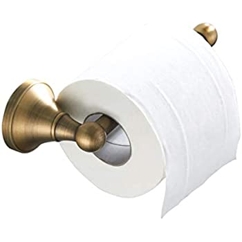Gold/bronze/silver/black Toilet Paper Holder Bathroom Solid Brass Antique Copper Tissue Roller Holder Wall Mounted Dr-39 Home Improvement