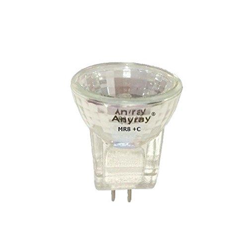 (Anyray A2017Y (1-bulb) 35-Watts MR8 +C 12V 35W Halogen Light Bulb 12-Volts)