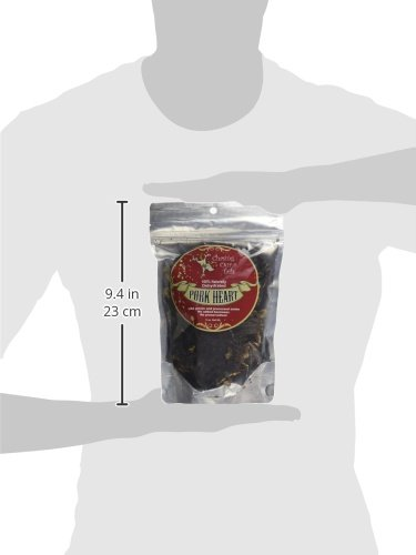 Chasing Our Tails Naturally Dehydrated Pork Heart for Pets, 5-Ounce by Chasing Our Tails (Image #1)