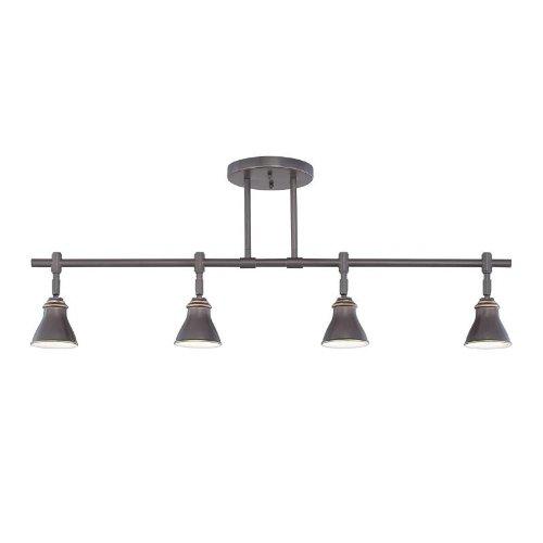 (Quoizel QTR10054PN Quoizel Track Light 4-Light Swivel Track Lamp, Palladian Bronze by Quoizel)