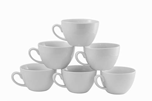 - Amuse- Professional Barista Cappuccino Mug- Set of 6-10 oz.