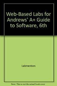 amazon com web based labs for andrews a guide to software 6th rh amazon com Harlequin Eldar 6th Edition Strategies APA 6th Edition Citation