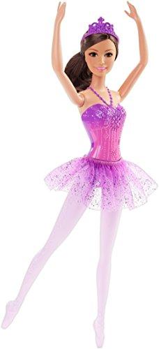 Barbie Fairytale Ballerina Doll, Purple