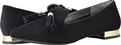 Rockport Women's Total Motion Luxe Zuly Loafer Black Suede 10 M US -