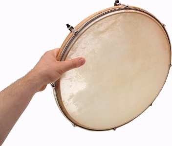 Sonor LHDN16 16'' Tunable Hand Drum with Skin Head by Sonor